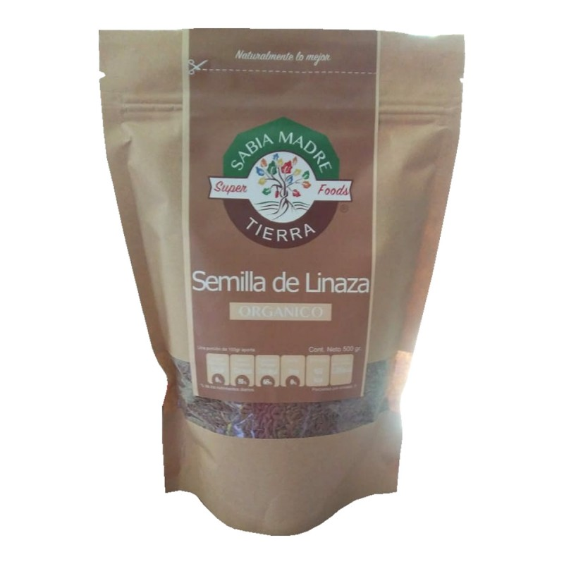 Semilla de Linaza Orgánica 250 gr